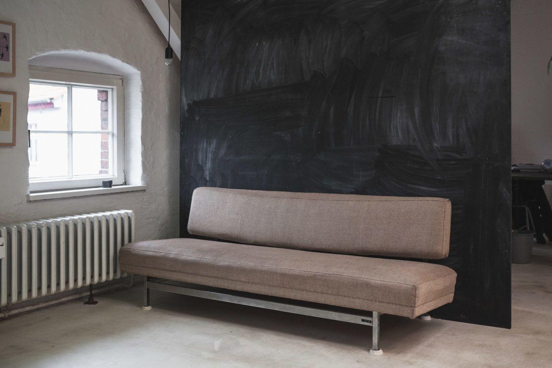 Sofa Bundestag von Egon Eiermann
