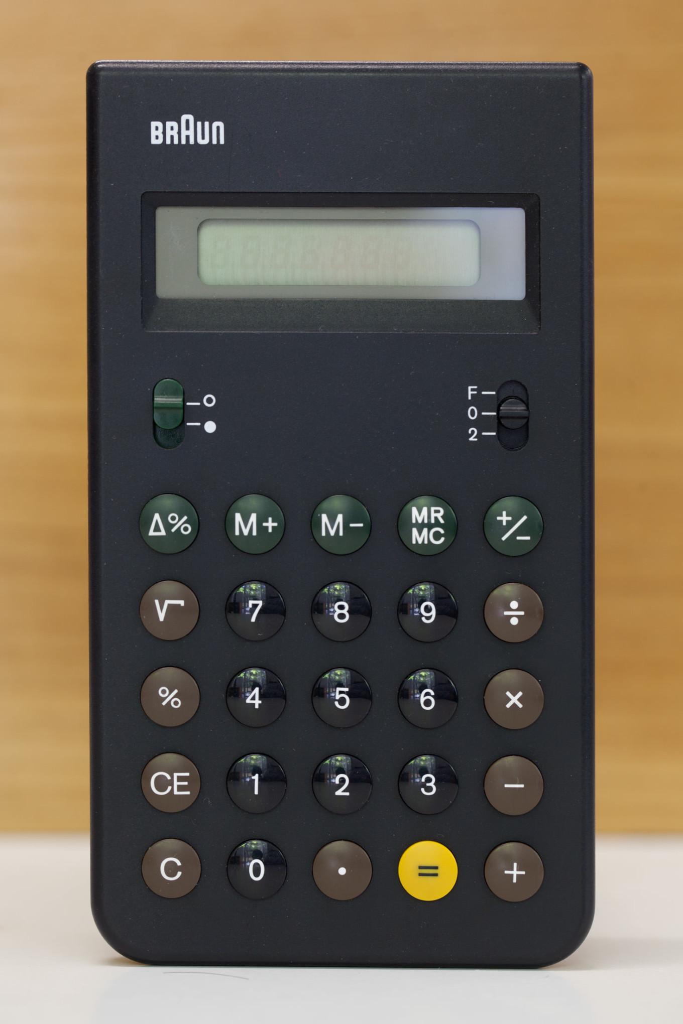 Braun Taschenrechner