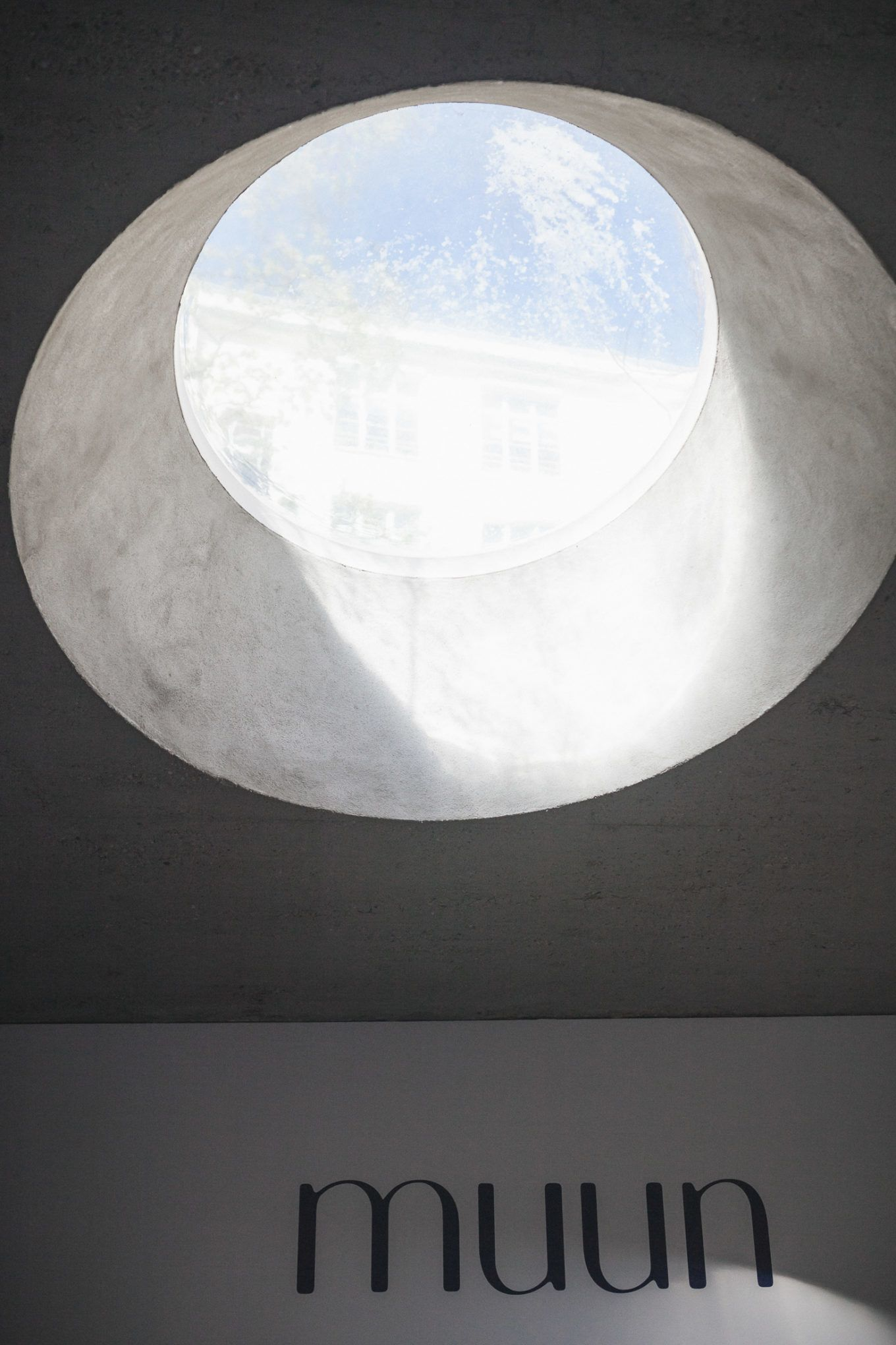 Muun Showroom window